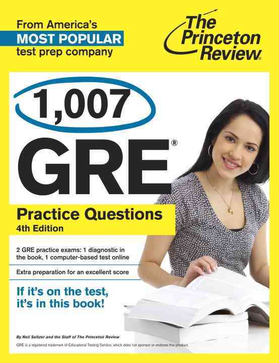 Princeton Review 1,014 GRE Practice Questions By Princeton Review (COR)